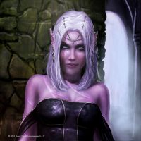 Dark Elf Avatar by Graysun-D