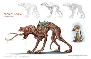 Mutant Hound-orthos by priapos78