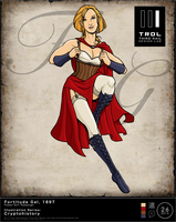 TRDL2015 - Fortitude Gal [Power Girl Redesign] by TRDLcomics