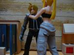 Ed and Winry by stopmotionOSkun