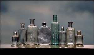 Clean Clear Bottles by DouglasHumphries