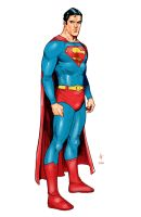 Action comics's Superman by JoshTempleton