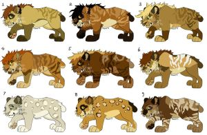 Saber Cub Adopts closed by MikacesAdopts