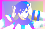 Butterfly on your right shoulder KAITO by XxVocaloidsrule