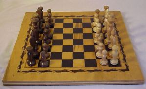 Chess set by Silver-Shadow-Light