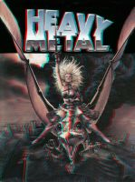 Heavy Metal cover 3-D conversion by MVRamsey