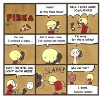 Pizza by iPancakes