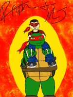 Raph and MJ by LoveableHothead