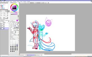 Oh hay a W.I.P by Etheral-Fox