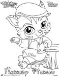 Barnaby Pickles Coloring Page from Whisker Haven by SKGaleana