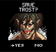 Assignment 9: Attack on Titan pixel by The-Tall-Midget