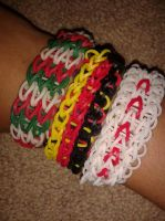 Axis Powers Bracelets by dawnflower8