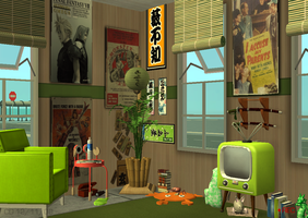 Contest Lot 1 - Sims 2 by CrabOfDoom