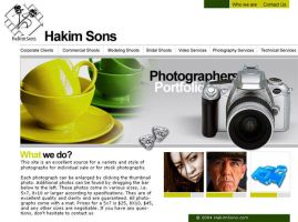 Photography corporate website by irfanrahmed
