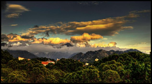 hdr sunset by tyetree