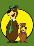 yogi bear and boo boo by AlanSchell