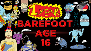 1 Year by BarefootDesign