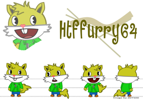 Request:Htffurry64 dt by ZDT500
