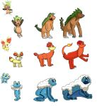 6th Generation Evolutions Complete by Druddy