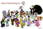 Imptastic Halloween Party 2014 by dragontrap
