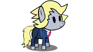 Derpy Wright Flash Puppet by YoshiGreenwater