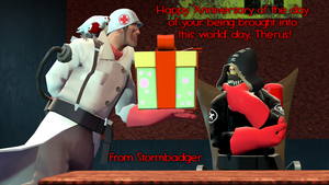 gmod - Happy Birthday, Therus by Stormbadger