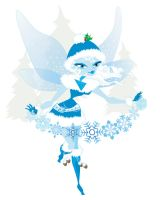 Winter Fairy by MAReiach