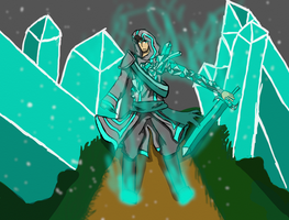 Hollow, Ice Mage by XionMinecraft