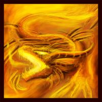 Elemental Dragon V4: FIRE by Pseudolonewolf