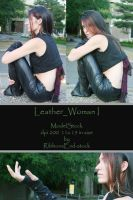 leather_Woman_I_Stock by RibbonsEnd-Stock