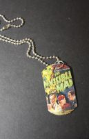 Invisible Man Necklace by kreepykustomz