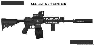 M4 S.I.R. TERROR by ZiWeS