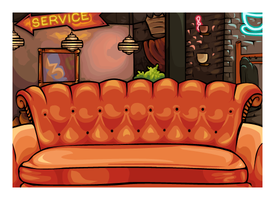 Central Perk by SheSaidNevermore