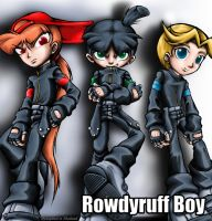 rowdyruff boy d wallpaper 2 by propimol