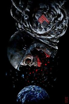 30 Days of Night: Dead Space by milxart