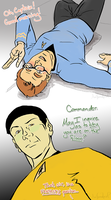 First Officer Kirk AU by anifanatical