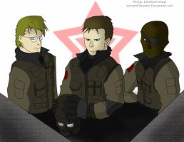 Russian Soldiers by VenomEXsoldier