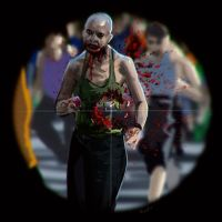 shooting zombies by randis