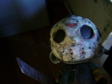 Friday the 13th Munny by jonathanscarecrow