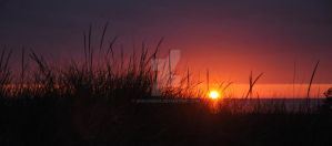 Sunset Over the Dunes by Aracosena