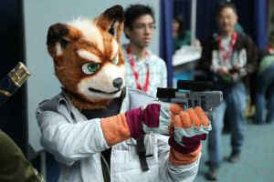 Fox McCloud Mask 2 by sjgarg