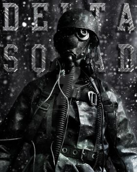 The soldier +copycat+ by draconisslayer