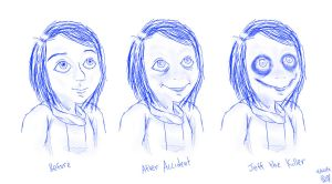 Jeff the Killer Phases by Artizluv
