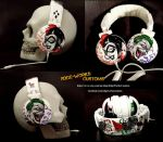 Joker and Harley Mad Love Headphones by Edge-Works