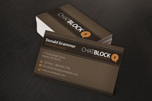 Light Leather Business Cards by xstortionist