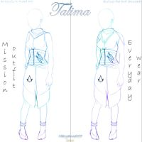AC OC Talima  - Outfit designs by Maryanne007