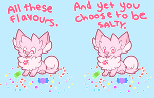 Salty by pupom