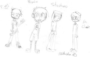 Pewdie and friends by cutegal129