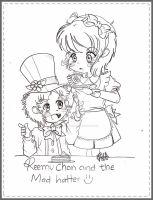 Reemu Chan and the Mad Hatter by Reemu-chan1984