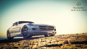 Mercedes SLS AMG 6.3 by nitingarg